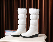 FEDONAS 2020 Kış Yeni Moda Inek Rugan Kadın Uzun Çizmeler Fermuar Kadın Diz Yüksek Çizmeler Yüksek Topuklu parti ayakkabıları Kadın(China)
