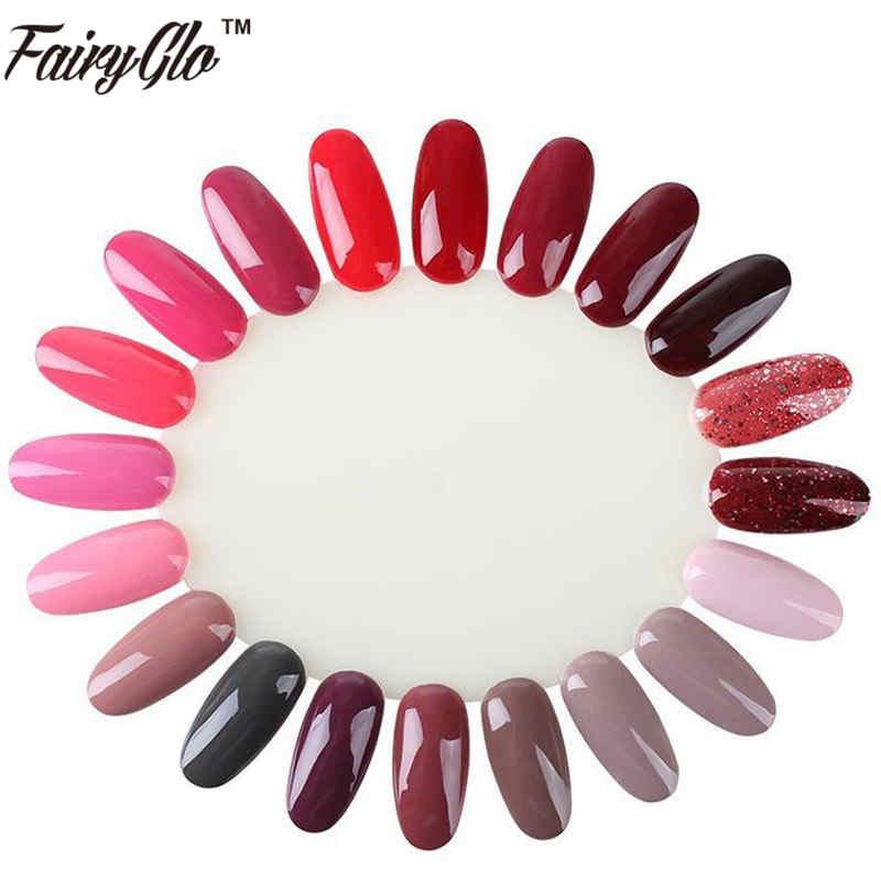 10pcs False Nails Tips Display Model Clear Transparent Manicure Practice Tools For Nail Gel Polish Colors Nail Art Diy Design(China (Mainland))