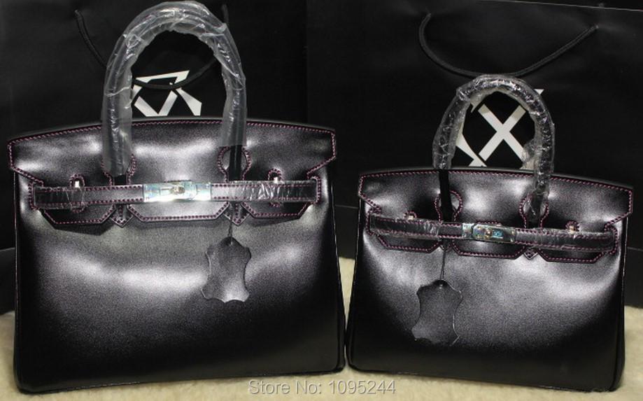 Japan Ru US Paris CA lady luxury new arrive original casual UK Italy waterproof box genuine leather handbag big size women bag(China (Mainland))