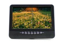 9.5 ''portable lcd a colori tv analogica con infrarossi telecomando di sostegno sd/MS/mmc(China (Mainland))