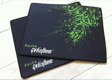 With Box Packed oem razer goliathus gaming mouse pad 300*250*2mm locking edge mouse mat speed version for  wow dota lol cs