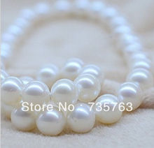 "xiuli 00122 HUGE 18""15MM PERFECT SOUTH SEA GENUINE WHITE PEARL NECKLACE 14K(China (Mainland))"