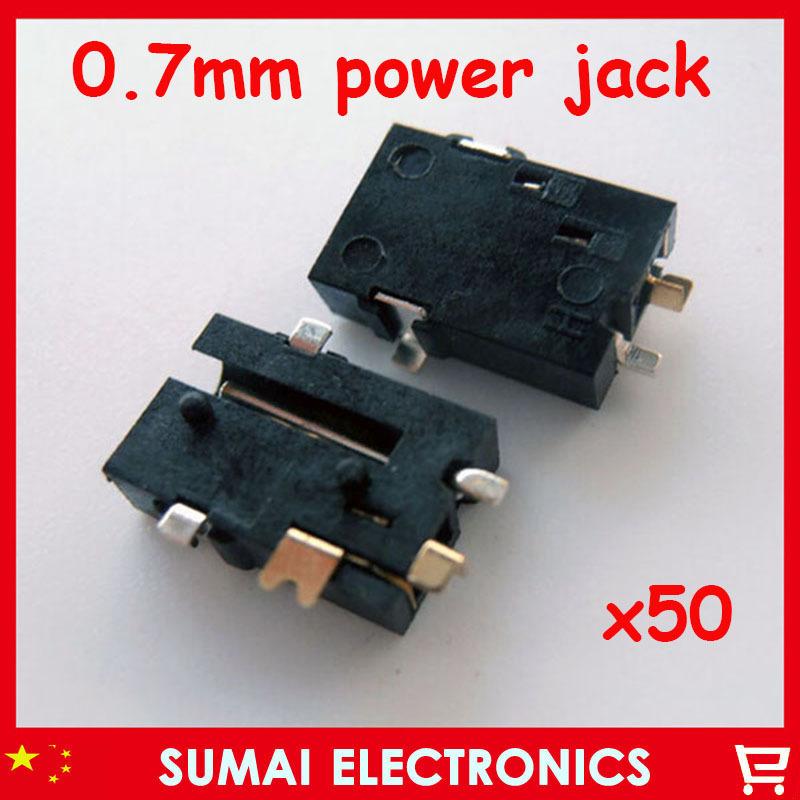 DC Power Jack wire plug Plug,DC jack/ Socket 50lap-top-ss/lot(China (Mainland))