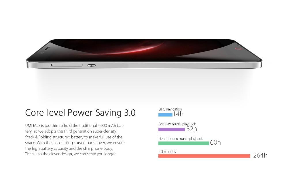 Original UMI Max Android 6.0 MediaTek Helio P10 Octa Core smartphone 4G LTE 5.5″ 3GB RAM 16GB ROM 4000mAh 13.0MP mobile phone