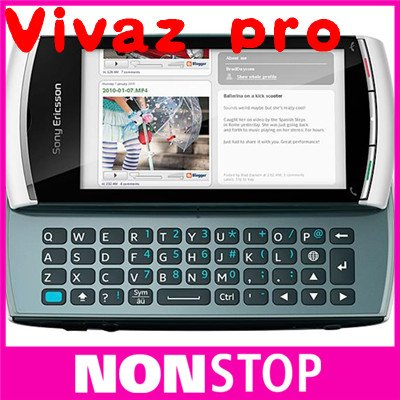 U8i Original Sony Vivaz pro U8 mobile phone 3G wifi gps bluetooth mp3 player fm radio 5MP camera(China (Mainland))