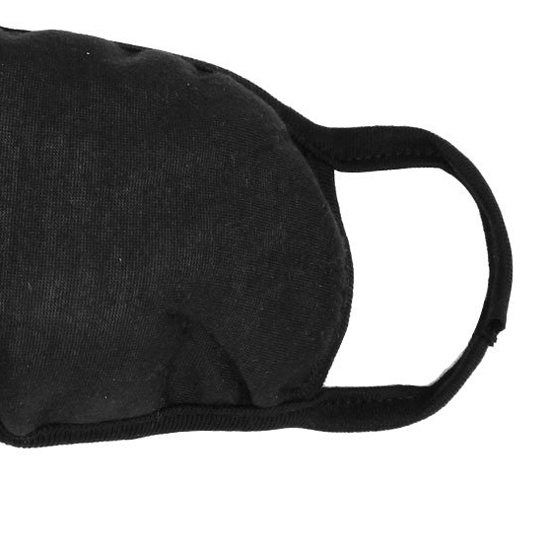 Lady Women Solid Black Ear Loop Face Mouth Mask Muffle,FREE SHIPPING(China (Mainland))