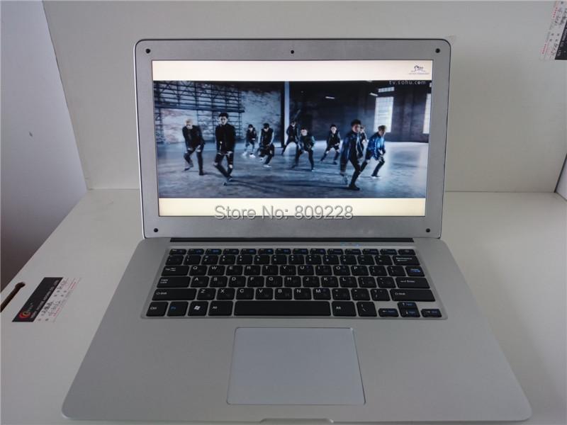 Free DHL Shipment !14.1inch Laptop 2G Ram 160GB Hard Disk Intel Celeron J1800 2.41 Ghz Dual Core 64bit  WIFI Webcam Ultra laptop(China (Mainland))