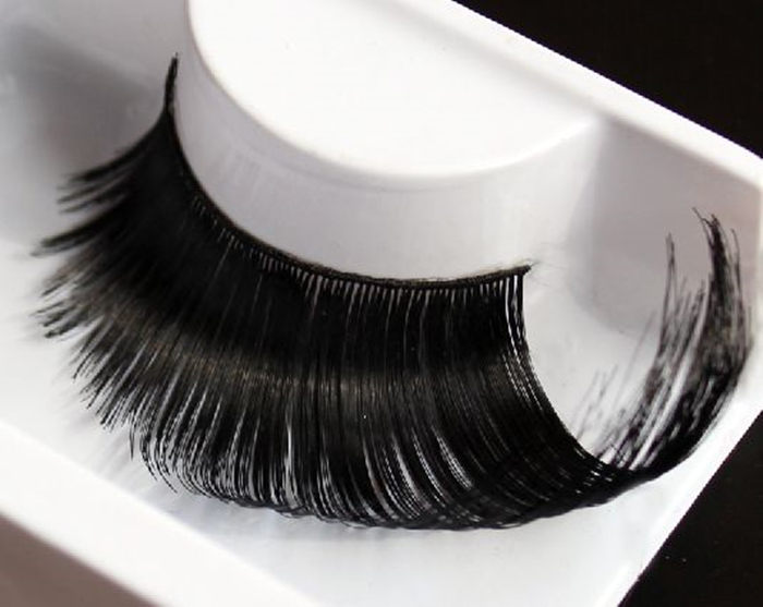 Black Color Super Long Part Queen Exaggerated False Eyelashes Party - jessie king's store