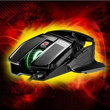 new top Ghost axe X1 stunning six key light corded Gaming Mouse Optical mouse high-precision(China (Mainland))