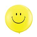 5PCS Lot 25G Yellow Smile Balloons Large Latex Balloon Children Happy Birthday Big Balloons Party Decora