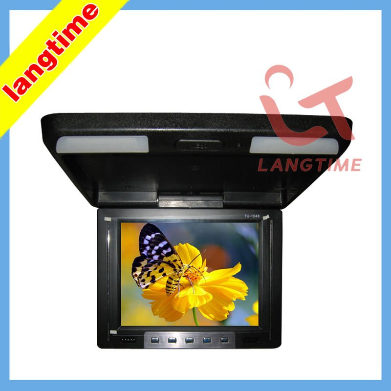 10.4 inch car roof mount/roof mount lcd monitor-with IR wireless audio output(China (Mainland))