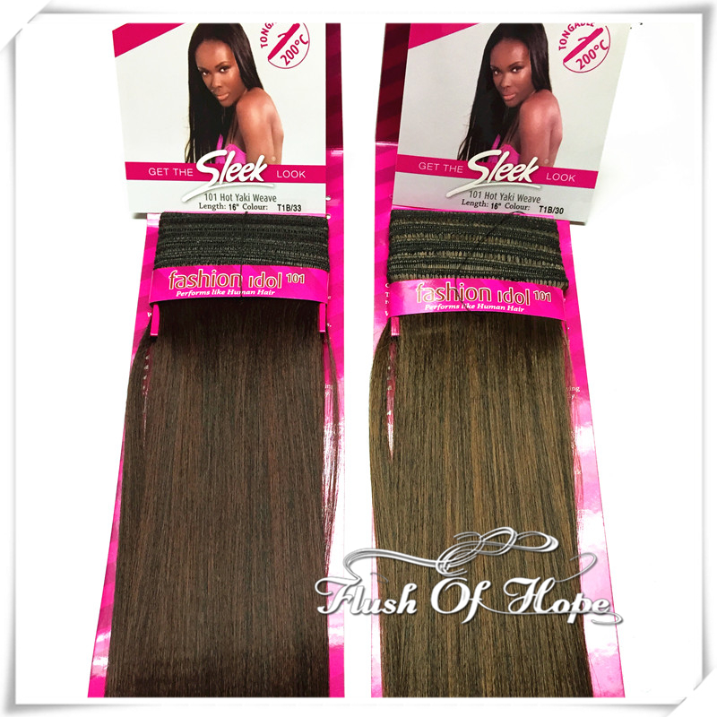 Sleek Human Hair Extensions Remy Indian Hair