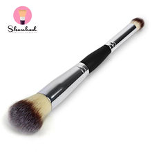 1PC Double Head Professional Multifunction Cosmetics Eyeshadow Facial Foundation Blush Makeup Brushes Tools(China (Mainland))