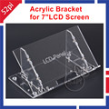 Transparent Clear Acrylic Bracket for Raspberry Pi 7 LCD Screen Panel Digital Screen
