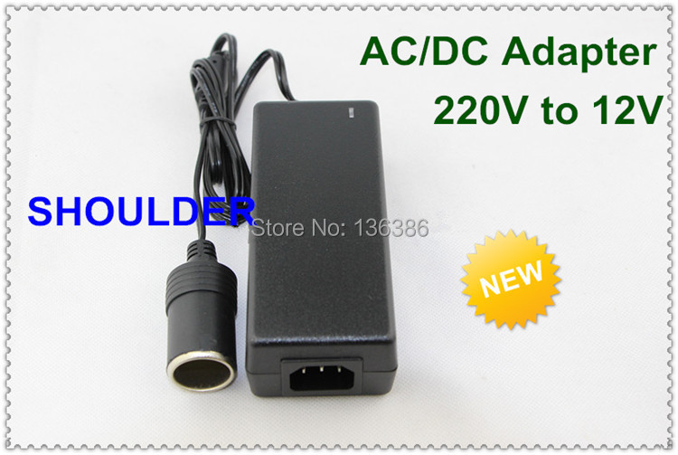 Best Price! New AC Converter Adapter DC 12V 5A 60W LED Power Supply car Charger cigarette lighter socket car converter(China (Mainland))