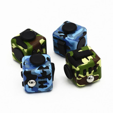Buy Fidget Cube fidget toys Camouflage series Anti Stress Gift Hand Puzzles & Magic Pad Fidget toys for $2.95 in AliExpress store