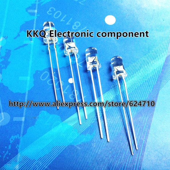 10Green Color DIP Light emitting diode 5mm Ultra Bright LED New Original - KKQ Electronic Component store