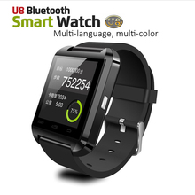 Bluetooth Smart Watch U8 Wrist Watch U SmartWatch for For iPhone 4/4S/5/5S/6, Samsung S4/Note/s6 HTC Android Phone Smartwatch