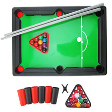 Childrenu0027s Billiards Toy Pool Table Parent Child Toy Mini Kidsu0027s Billiards  Sports Toy In American Style Indoor Sports
