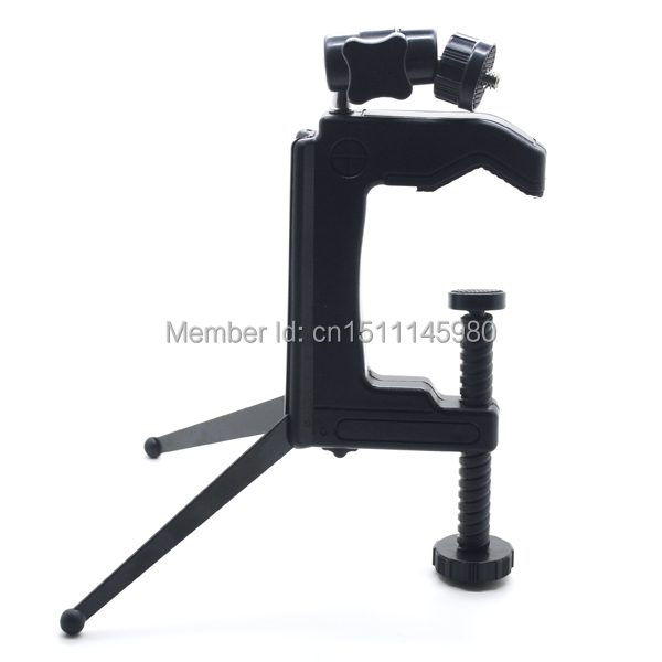 Photo Studio Travel Portable C-Clamp Desktop Tripod Swivel Camera Stand Tripod Table for Camera Camcorder and DSLR & SLR 8Px(China (Mainland))