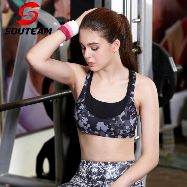 Swim Running New 2016 Sports Bra Yoga Bra Workout Legging GYM Fitness Clothing Underwear for Women Skinny Sexy Camouflage<br><br>Aliexpress