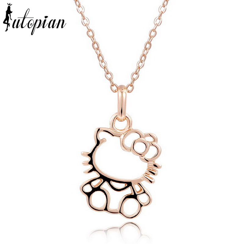 Buy iutopian cute kitty pendant necklace for Cute jewelry for girlfriend