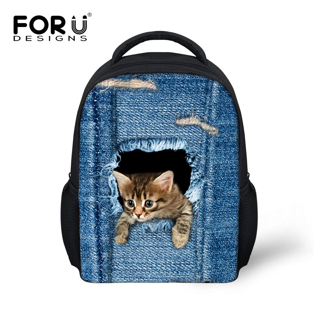 12'' Mini Children's School Bags Boys Cute Animal Dog Golden Retriever Backpack Student Schoolbag Kids Mochila Infantil - KIDS FOR YOU,CO.,LTD store