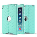 Hybrid Armor Case For iPad Air 1 iPad 5 Kids Safe Shockproof Heavy Duty Silicone Hard