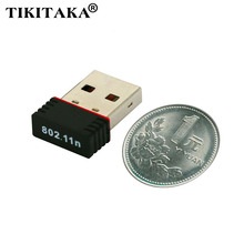 TIKITAKA Top quality Ralink RT5370 150Mbps 150M USB 2.0 WiFi Wireless Network Networking Card 802.11 b/g/n 2.4GHz LAN Adapter(China (Mainland))