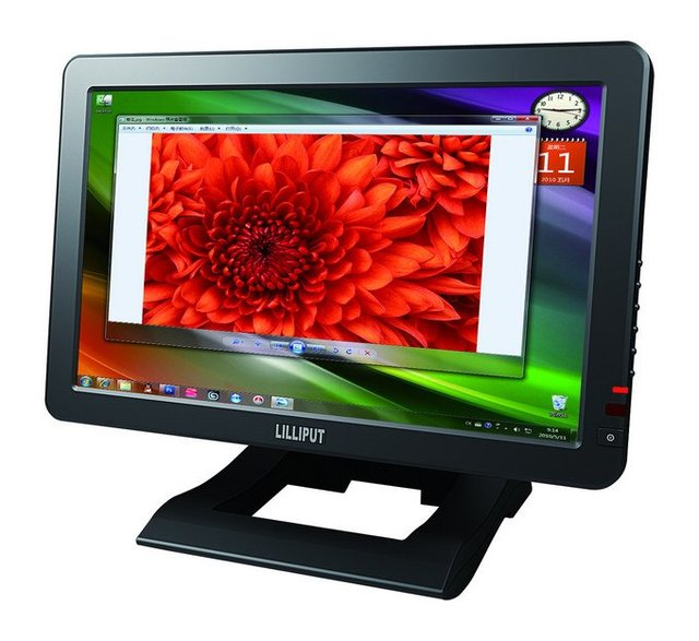 "free shipping,lilliput 10.1""  HDMI LED VGA Monitor,with HDMI&DVI Input,YPBPR optional,FA1011-NP,1920*1080P"