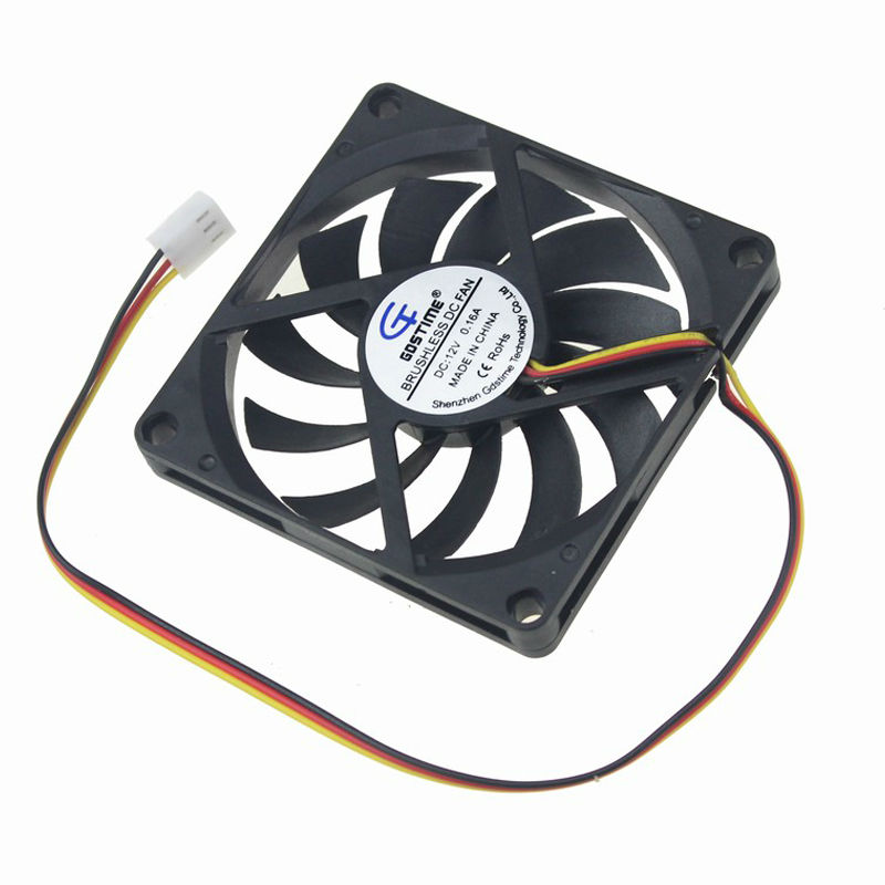 80mm fan 3pin 4