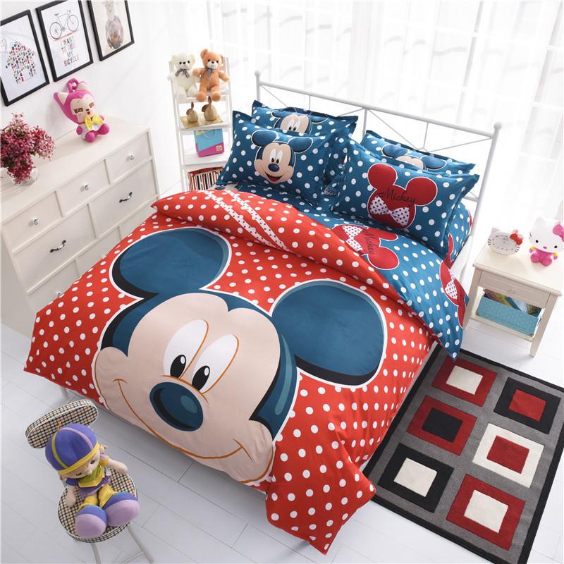 4/3pcs 100%Cotton Kids Boys 3d Bedding Set Twin/Full/Queen Bed Linen/Bed Sheet Duvet Cover/Pillow Covers For Cartoon Beding(China (Mainland))
