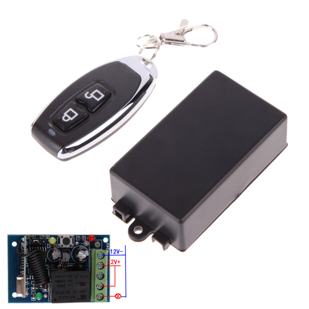 New hot 1ch 12v electric cloning universal gate garage for 12v garage door remote