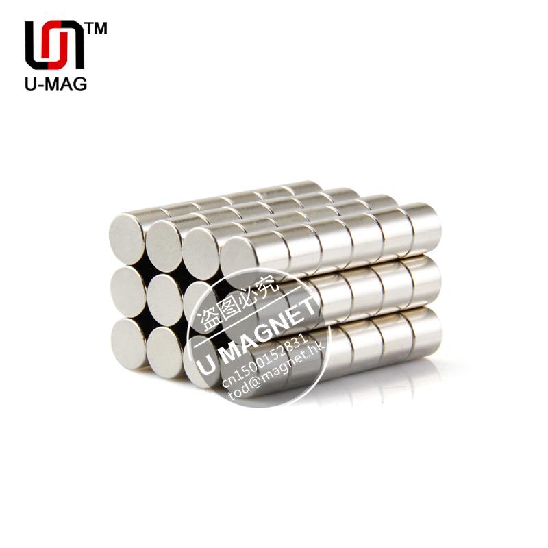 Гаджет  80pcs Strong Round Magnets Dia 6mmx5mm N35 neodymium magnet rare earth magnet None Строительство и Недвижимость
