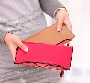 Free shipping 2015 new fashion ladies hand bag women purse Korean slim Long Wallet BG085(China (Mainland))