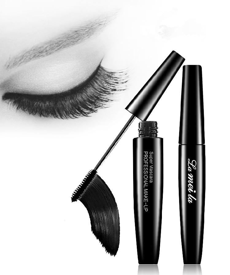 Fashion new Professional Black They're Real Beyond Mascara eyelashes Thick Lengthening Makeup Eyelashes Mascara Waterproof(China (Mainland))