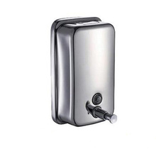 1000 ml Stainless Steel Wall-Mount Single Bottle Liquid Soap and Shower Dispenser 361615(China (Mainland))
