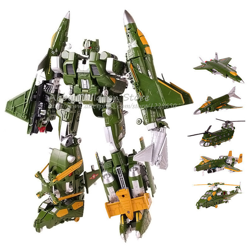 Alloy Deformation Fighter Aircraft Toy Transformation Robot Military Model Ultimate Fearless Educational Learning Toy Boys Gift<br><br>Aliexpress