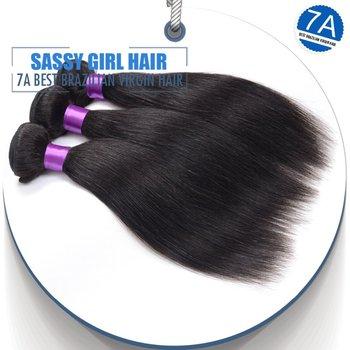 Straight Brazilian Virgin Hair Unprocessed Brazilian Remy