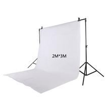 2Mx3M 100% Cotton Photo Studio Background White Photography Backdrops Photography Background