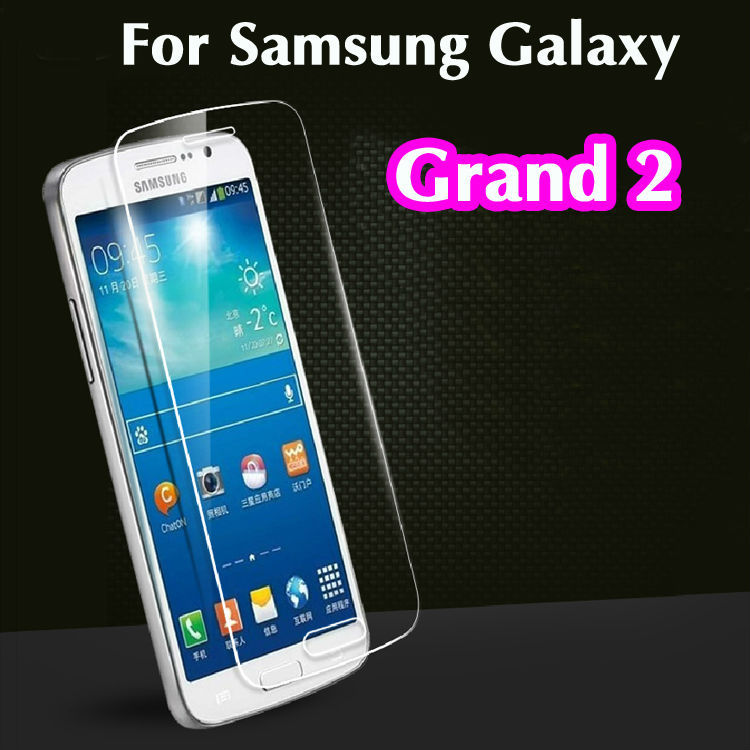 Гаджет  Thin 0.3mm Explosion Proof Premium Tempered Glass Screen Protector Anti-scratch Film For Samsung Galaxy Grand 2 Duos G7102 G7106 None Телефоны и Телекоммуникации