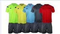 2015 Jersey Soccer referee Judge uniform professional soccer referee clothing Football 15/16 referee Jersey free shipping