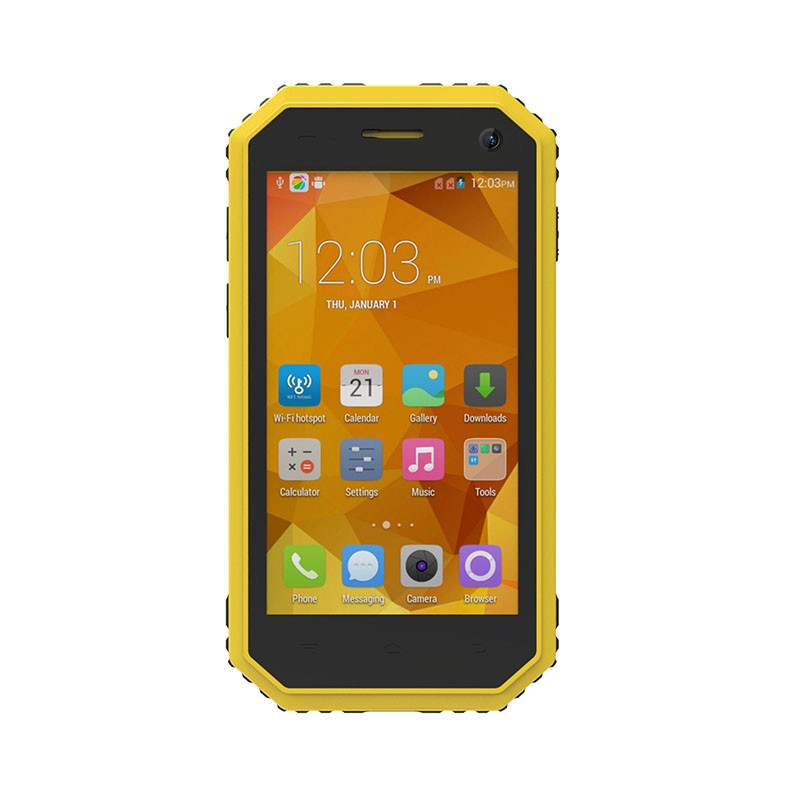 Kenxinda Flattop W6 Waterproof Shockproof Android Smartphone LTE Quad Core RAM 1GB ROM 8GB 8.0MP 2600mAh