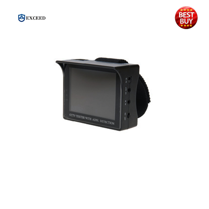 3.5 inch LCD CCTV Video camera Tester MONITOR COLOR CCTV Security Surveillance CAMERA TESTER With ADSL Detection Engineering(China (Mainland))