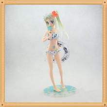 Sexy 24CM Anohana Honma Meiko Menma with Bikini Swimwear 1/7 Scale PVC Action Figure Model