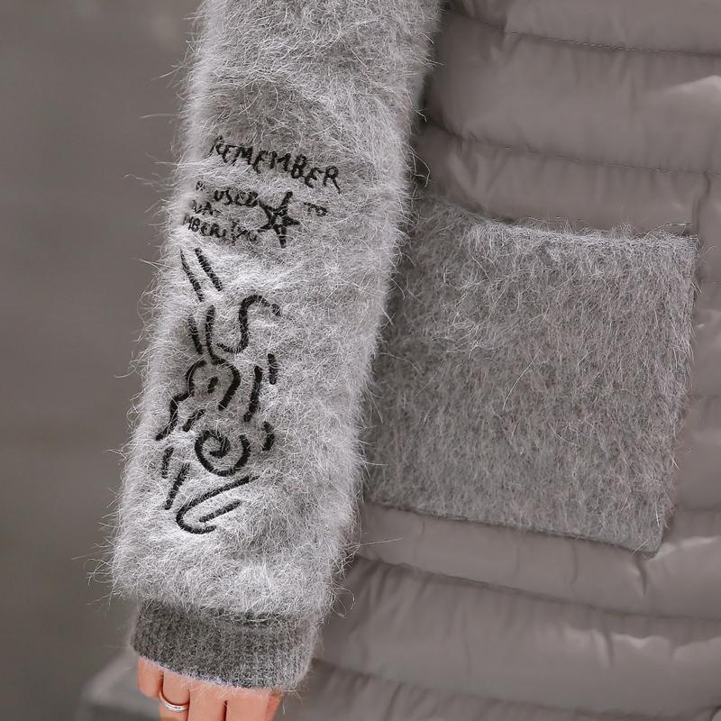 New Slim Plus Size 5XL Women Winter Padded Long Paragraph Cotton Jacket Fashion Warm Down Coat