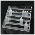1pcs Transparent electronic cigarette acrylic display holder rack show stand e cig display shelf liquid bottle