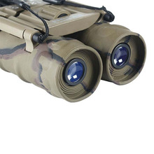 2014 foco ajustable 12 x 25 302FT / 1000 YDS prismáticos 12 Times enfoque corto ordinaria impermeable telescopio Binocular
