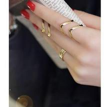 R281 2015 New Fashion Hollow arrow deformed female exaggerated influx of people ring Jewelry Wholesale(China (Mainland))