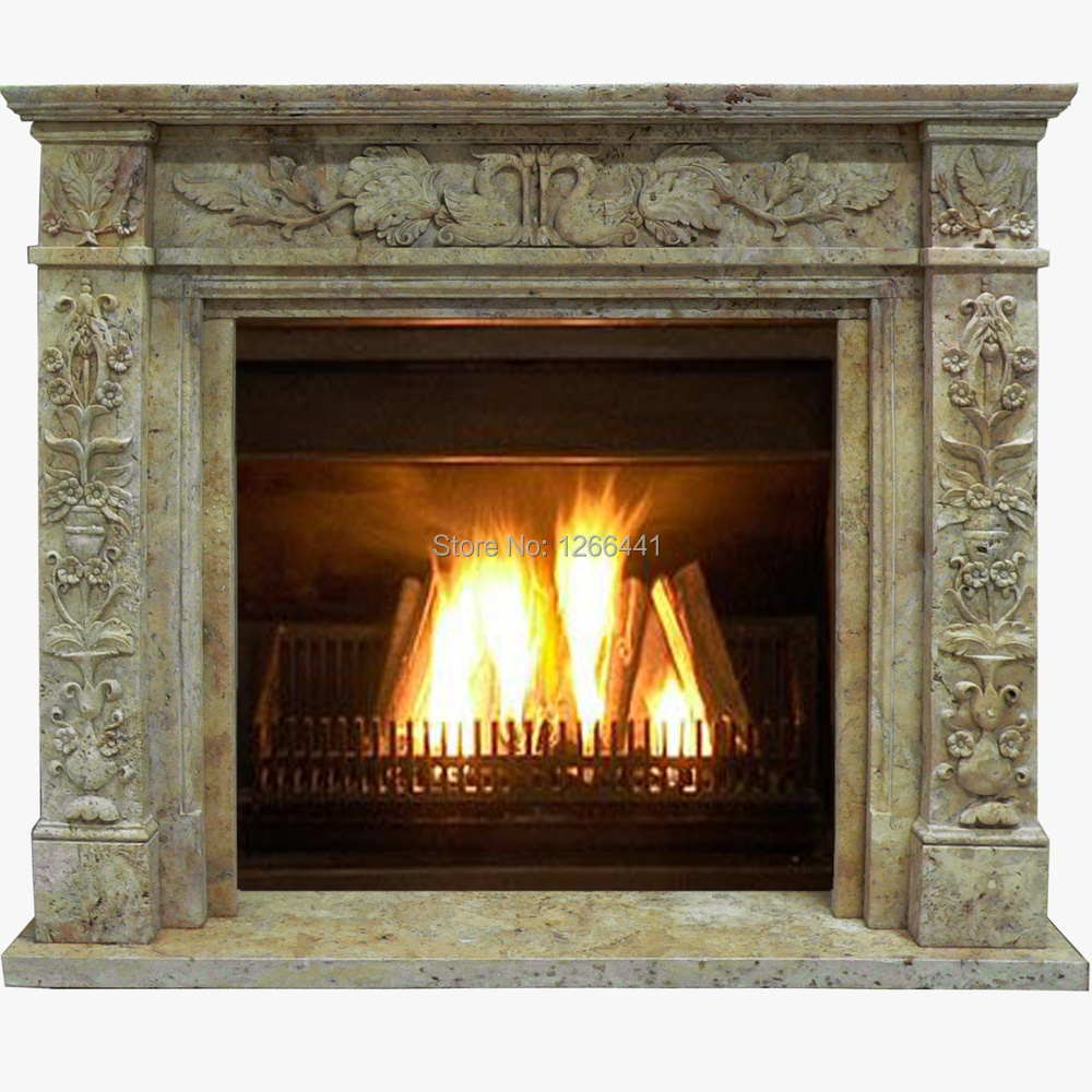 Buy Stone Fireplace Mantel Surround